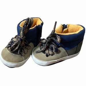 NEW Koala Baby Size 3 Baby Boys Lace Up High Top Shoes
